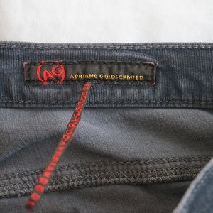 Ag Adriano Goldschmied Jeans - Ag Adriano Goldschmied Corduroy Boot Cut Jeans 30